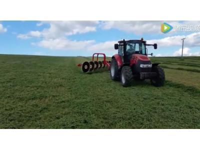 伊诺罗斯RT系列指轮式搂草机作业视频