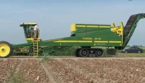 Ploeger公司AR-4W自走式馬鈴薯收獲機作業視頻