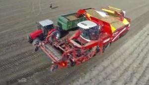 格立莫Tectron415马铃薯收获机作业视频