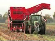 Dewulf公司R2060双行牵引式马铃薯收获机作业视频