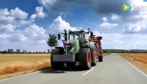 芬特900Vario系列多用途拖拉机视频