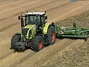 科乐收(CLAAS)AXION800系列拖拉机视频