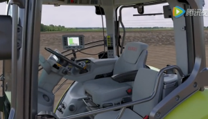 科樂收(CLAAS)AXION800系列拖拉機駕駛室簡介2014款視頻