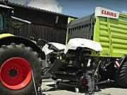 科乐收(CLAAS)CARGOS系列拖车拆除捡拾装置视频