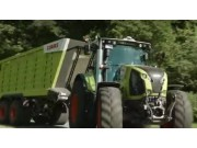 科乐收(CLAAS)CARGOS700拖车视频
