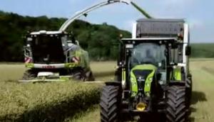 科乐收(CLAAS)CARGOS系列拖车视频