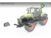 科乐收(CLAAS)ARION650-530拖拉机扩展农具视频