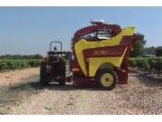 ALMA公司Selecta3牵引式葡萄收获机作业视频