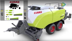 科樂收(CLAAS)QUADRANT5300自動壓力控制系統視頻