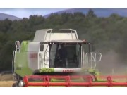 科乐收(CLAAS)LEXION650收割机作业实拍视频