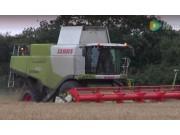 科乐收(CLAAS)LEXION750收割机作业实拍视频
