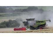 科乐收(CLAAS)LEXION780TT联合收割机农户评价视频