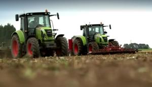 科乐收(CLAAS)设备英国地区作业视频