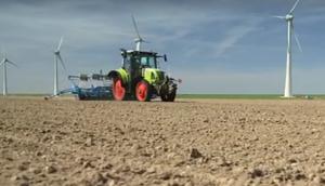 科乐收(CLAAS)设备荷兰地区作业视频