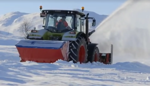 科乐收(CLAAS)设备挪威地区作业视频