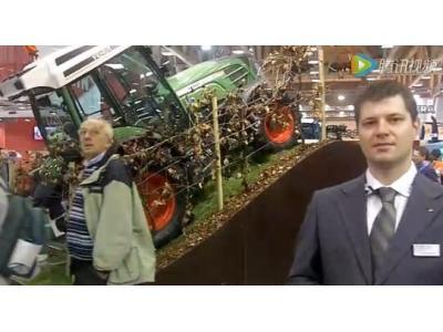芬特200Vario系列拖拉机展会实拍视频
