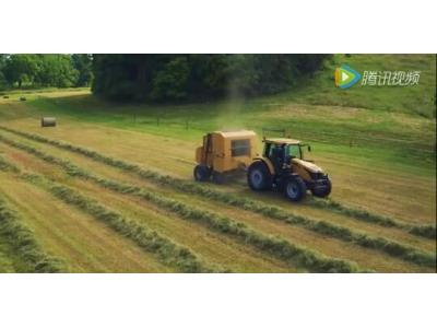 挑战者MT400E系列轮式拖拉机视频
