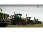 科樂收(CLAAS)XERION系列拖拉機哈薩克斯坦體驗報告視頻