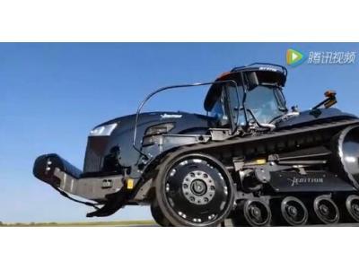 挑战者X-Edition概念拖拉机视频