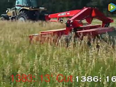 麥賽福格森Hesston1380割草機視頻