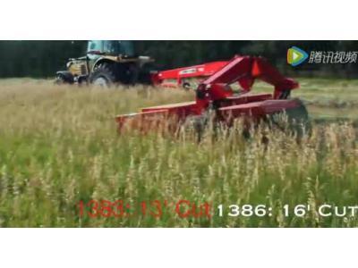 麦赛福格森Hesston1380割草机视频