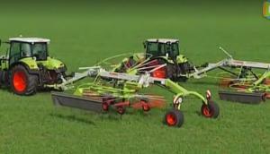 科乐收(CLAAS)LINER1750/1650旋转式搂草机视频