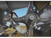 科乐收(CLAAS)LEXION系列收割机秸秆粉碎装置视频