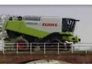 科樂收(CLAAS)LEXION580/570收割機收水稻視頻