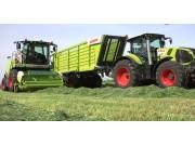 科乐收(CLAAS)青贮机自动跟踪草铺系统视频