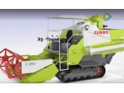 科樂收(CLAAS)全履帶式水稻收割機視頻