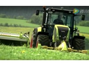 科樂收(CLAAS)割草并鋪機視頻