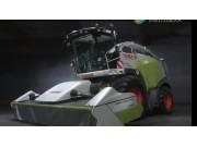 科乐收(CLAAS)青贮机配套割草机作业视频