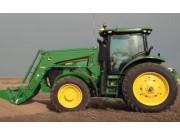 约翰迪尔新款7R系列拖拉机视频