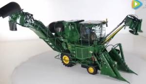 約翰迪爾CH570甘蔗收割機視頻