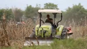 科乐收(CLAAS)TALOS130小型拖拉机视频