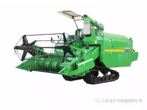 谷物收割全能王--金大丰牌谷物收割机