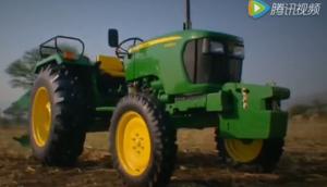 约翰迪尔新款5060E拖拉机视频