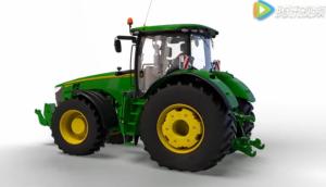約翰迪爾e23變速箱應用7R/8R系列拖拉機