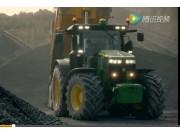 约翰迪尔7R系列拖拉机视频