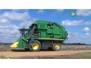 约翰迪尔CP690采棉机运输配置视频