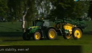 约翰迪尔M700/M700i牵引式喷药机视频