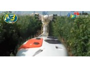 博格公司果園用彌霧機和噴藥機作業視頻