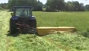赛特利斯DM7圆盘刀割草机