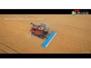 谢尔本CVS32站秆梳脱割台收获后斜交叉免耕播种视频