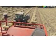 Rancho Gordo公司芸豆收获机视频