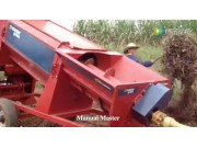 Manual Maste牵引式芸豆脱粒机视频