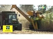 Canetec公司AX5000甘蔗收获机视频