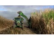 约翰迪尔3522甘蔗收获机视频
