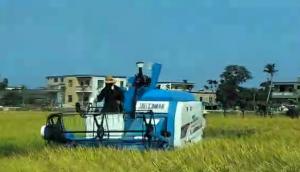 柳林4LZ-B系列纵向轴流全喂入联合收割机使用与维护视频