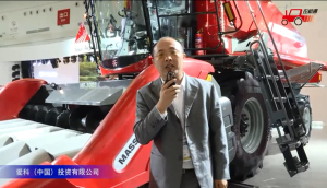 """麦赛福格森""""全收系列""""T5联合收割机视频详解—2018国际农机展"""